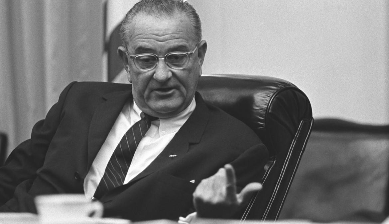Lyndon Johnson nel 1964